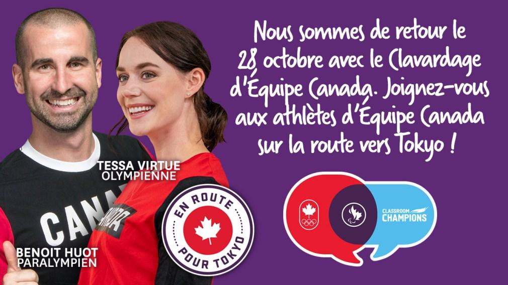 Clavardage d'Équipe Canada