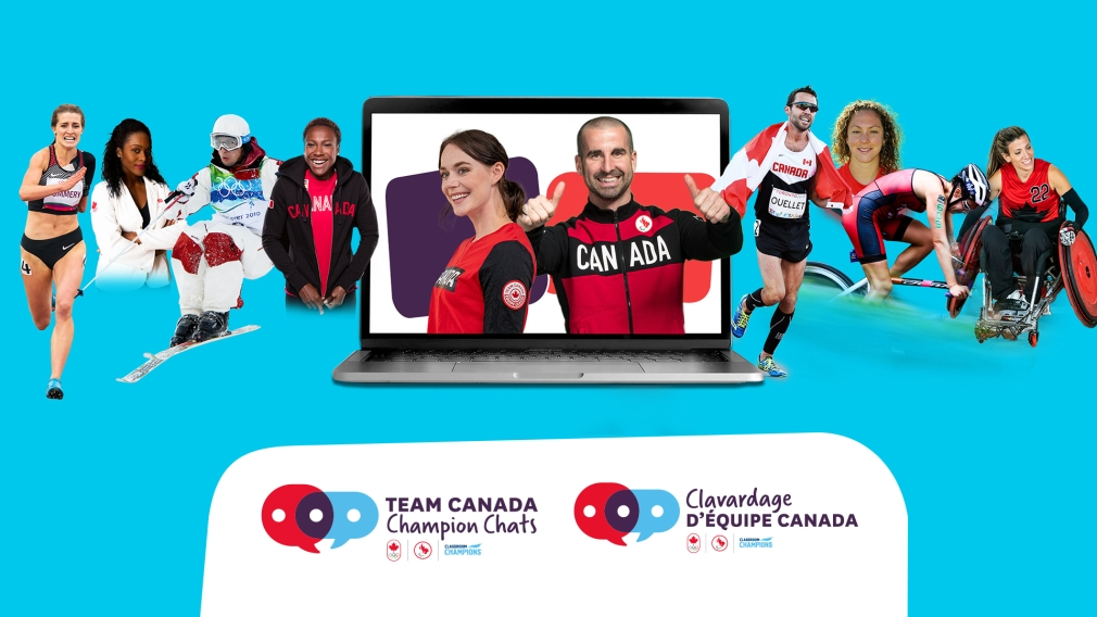 Le Clavardage d'Équipe Canada réunira virtuellement des jeunes de partout au Canada à des athlètes olympiques et paralympiques