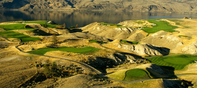 Tobiano Golf Course with its unique look