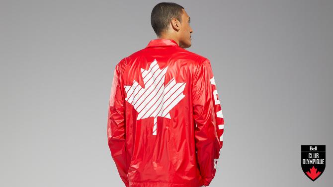 Gagnez une réplique de la veste de Cérémonie d'ouverture d'Équipe Canada