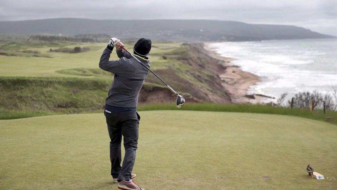 Équipe Canada Cabot Cliffs golf