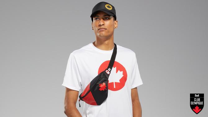 Gagnez un des 20 sacs de ceinture de la Collection Tokyo 2020 d'Équipe Canada