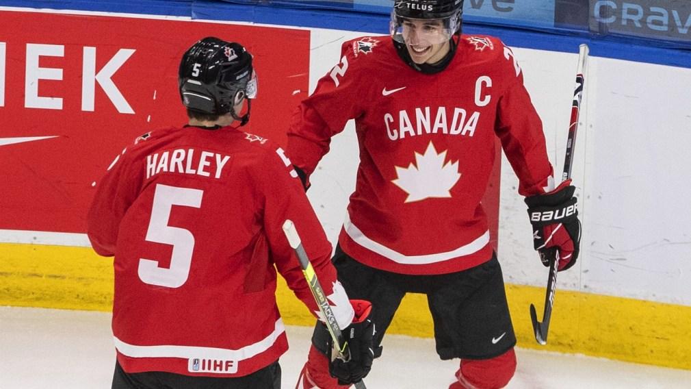Mondial junior : le Canada termine au premier rang du groupe A
