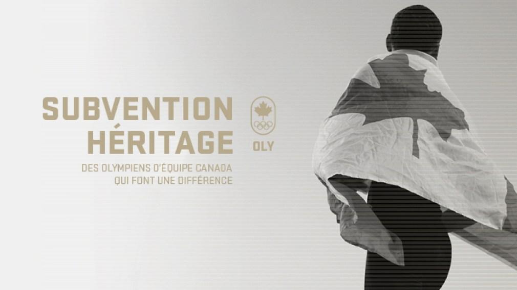 Équipe Canada dévoile les lauréats des Subventions Héritage d'OLY Canada 2020