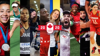 Equipe Canada - athletisme - Phylicia George - Rio 2016