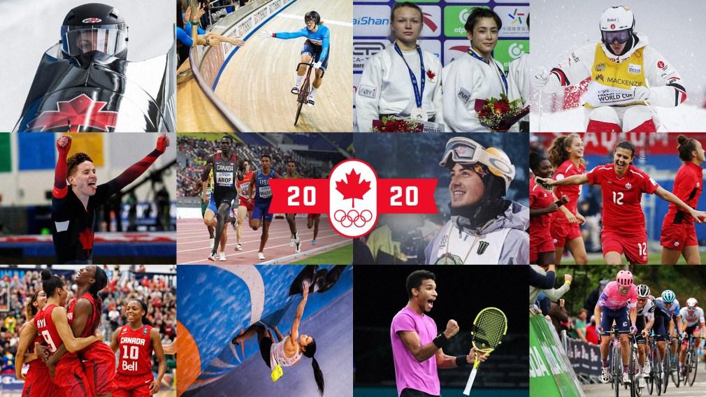 Top 10 des meilleurs moments sportifs d'Équipe Canada en 2020