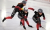 L'or et le bronze en poursuite par équipes à la Coupe du monde de patinage de vitesse de Heerenveen