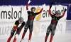 Patinage de vitesse : l'or, l'argent et un record de piste pour Équipe Canada