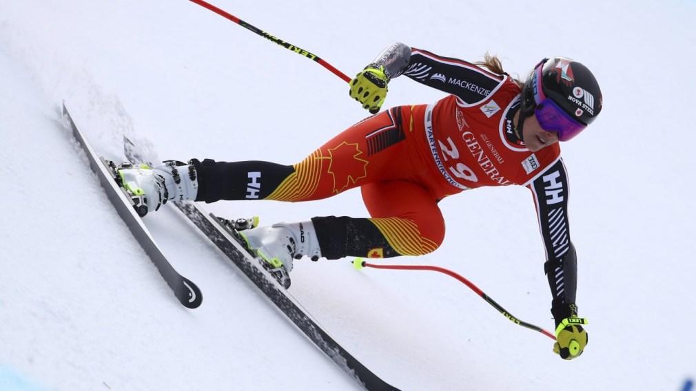 Marie-Michèle Gagnon obtient le bronze en Super-G