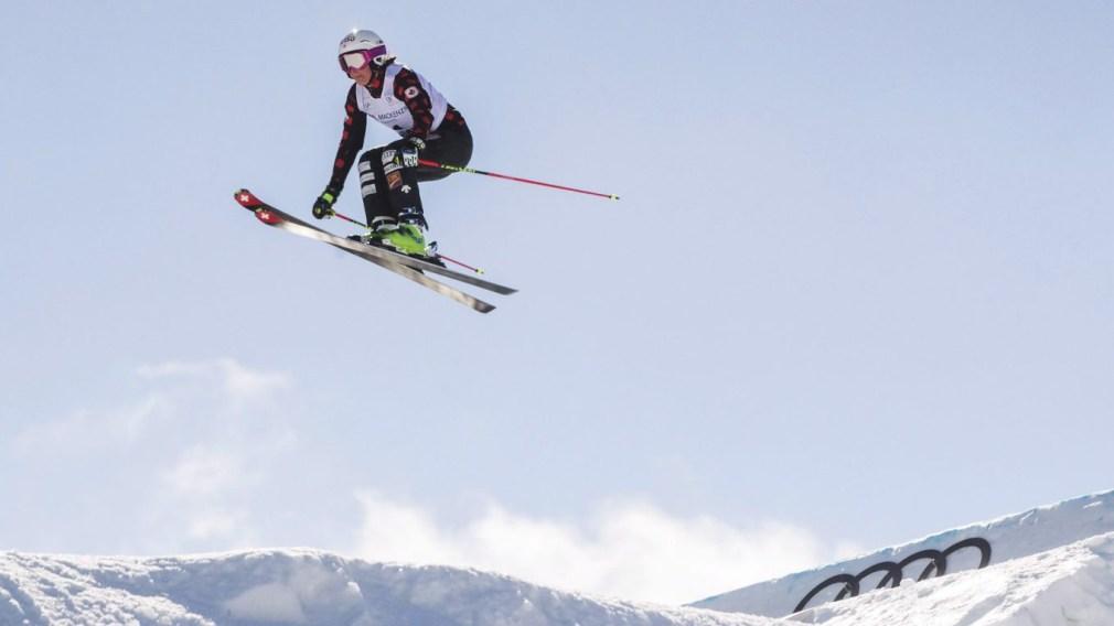 Marielle Thompson décroche l'argent en ski cross à Idre Fjäll