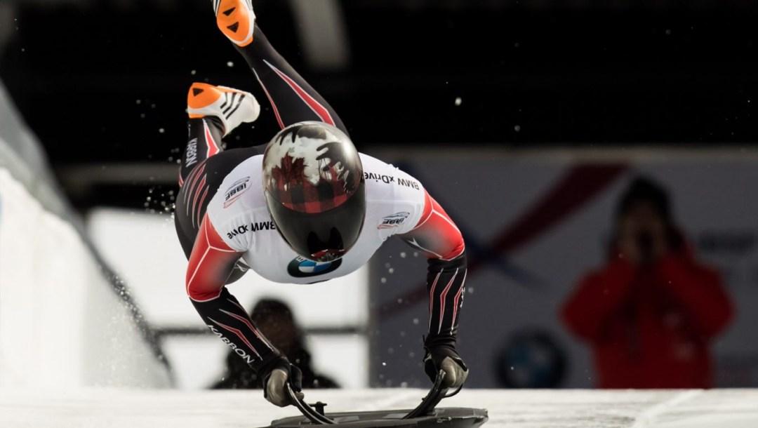 Championnats du monde de skeleton - Elisabeth Maier - Whistler