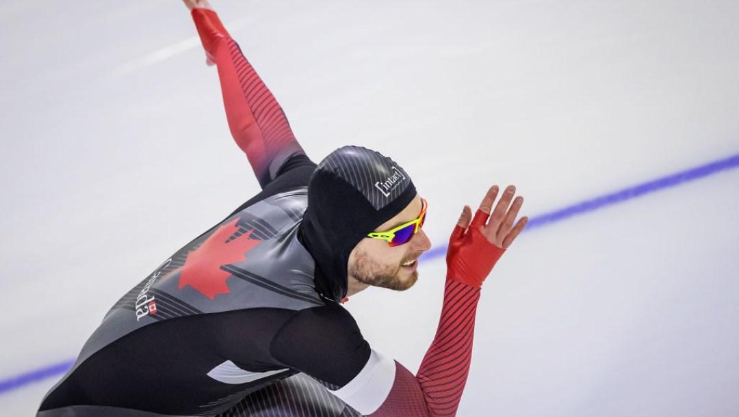 Laurent Dubreuil en pleine course