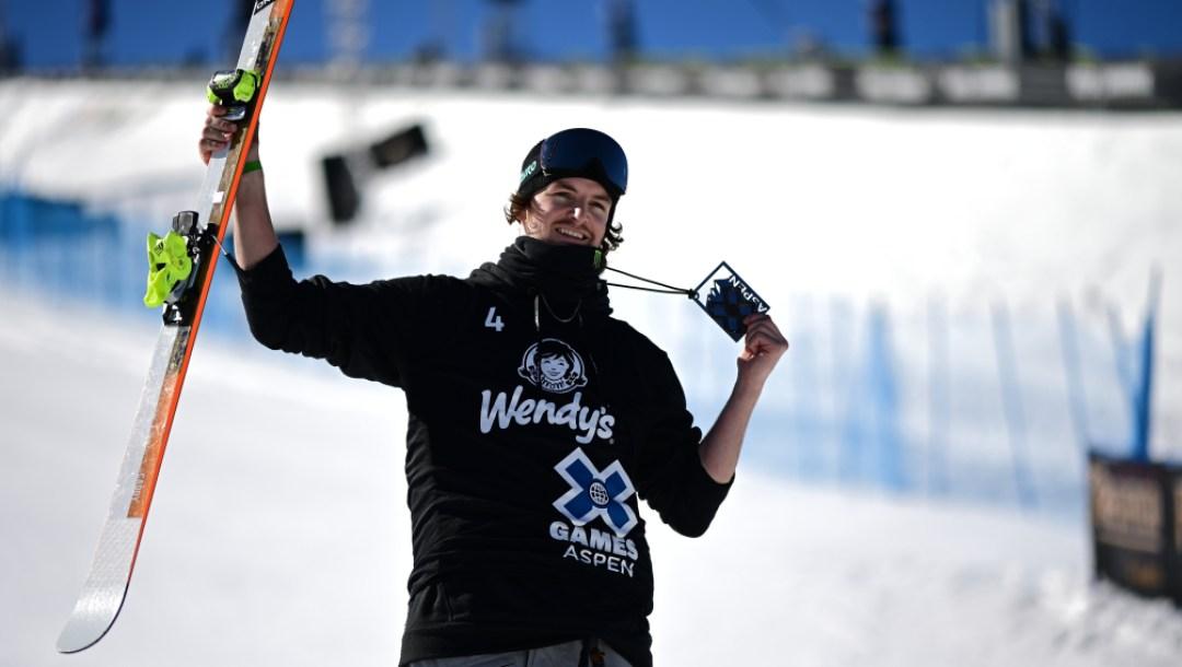 Evan McEachran aux X Games d'Aspen