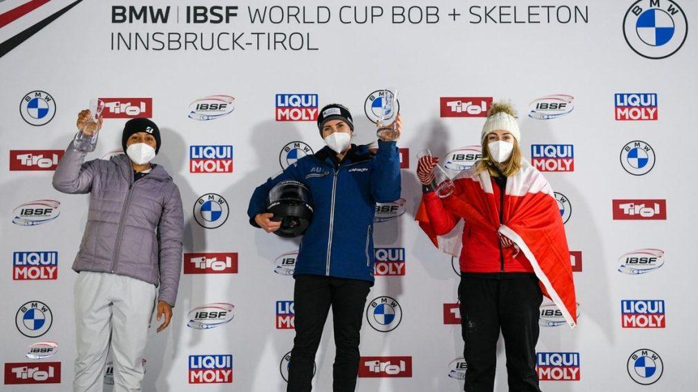 Un podium synonyme de Championnats du monde pour Melissa Lotholz