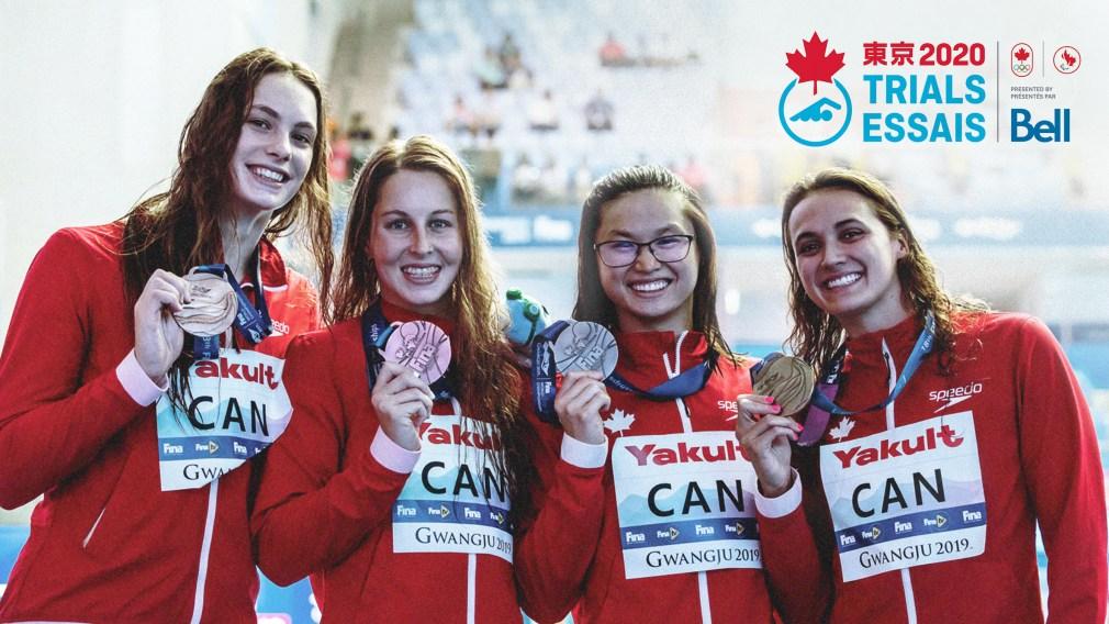 Six nageurs provisoirement nommés pour représenter Équipe Canada à Tokyo 2020