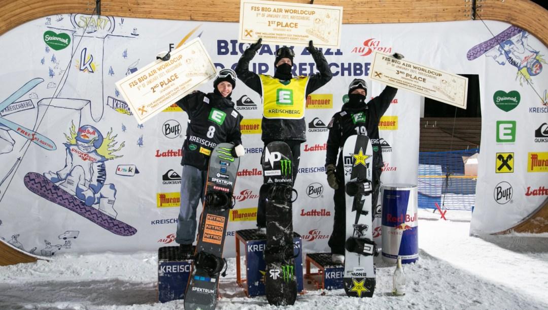 Coupe du monde de snowboard Big Air FIS - Max Parot - Kreischberg, Autriche