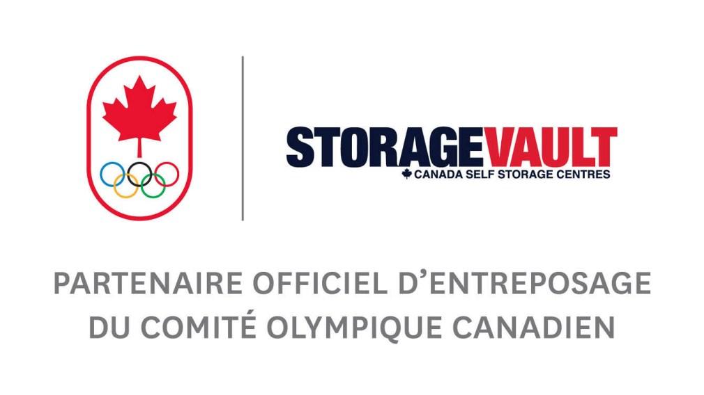 StorageVault Canada Inc. nommé Partenaire officiel d'entreposage et de déménagement d'Équipe Canada