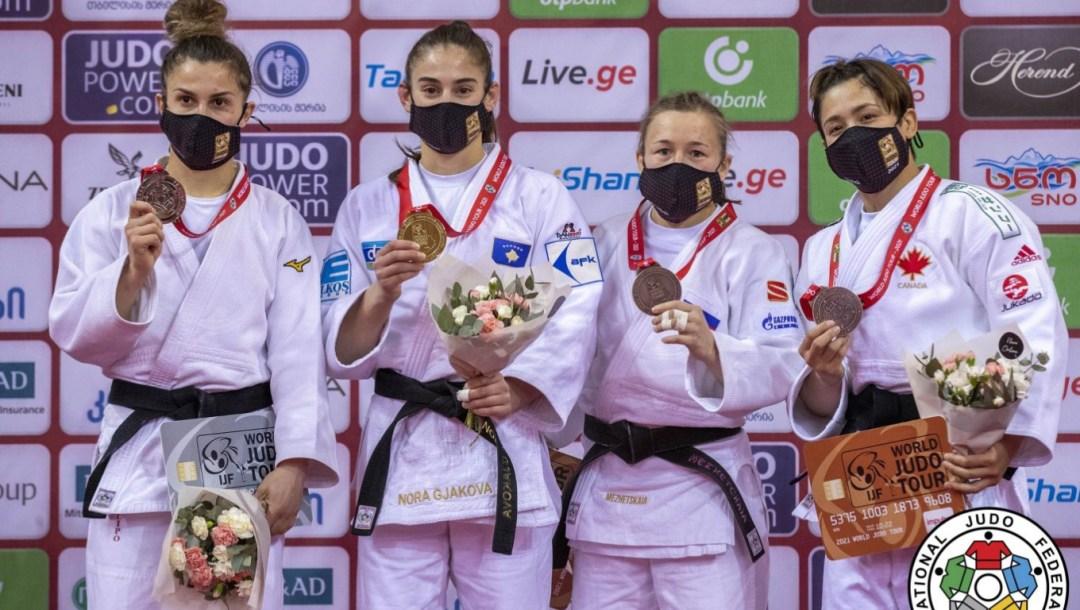 Équipe Canada - Christa Deguchi - Judo - Grand chelem Géorgie