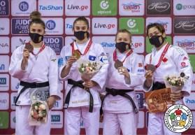 Quatre judokas sur le podium du Grand chelem de Géorgie