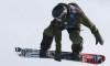 Liam Brearley décroche l'argent en snowboard slopestyle en Suisse