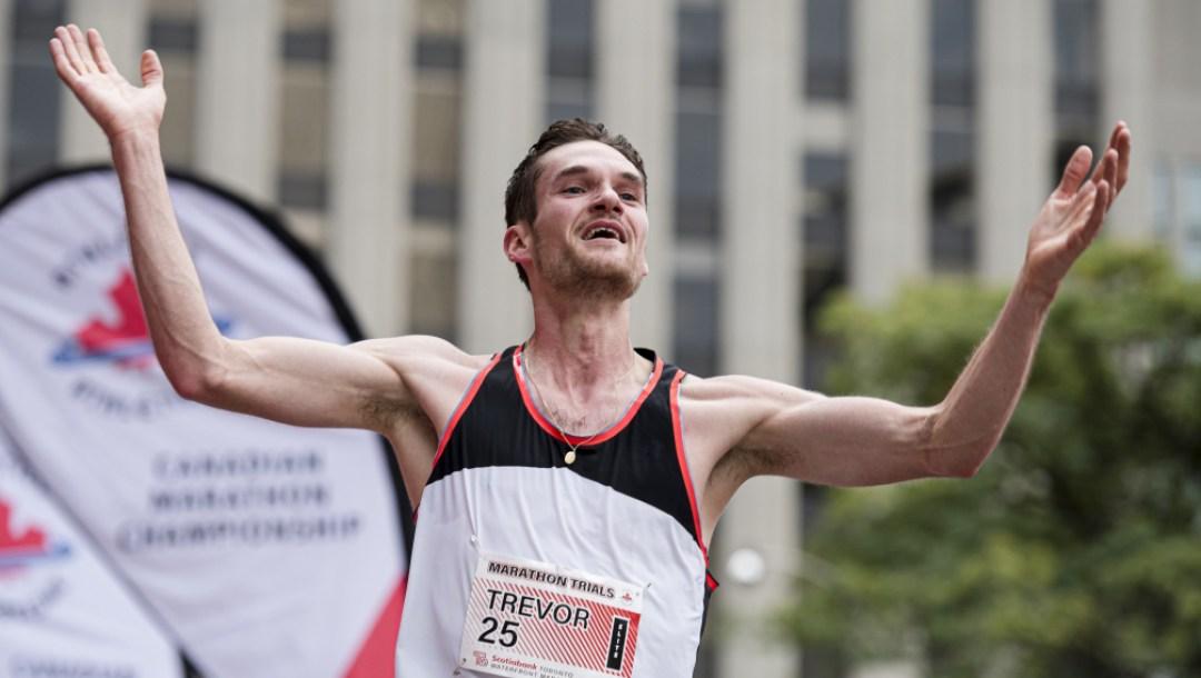 Équipe Canada Trevor Hofbauer Athlétisme Marathon