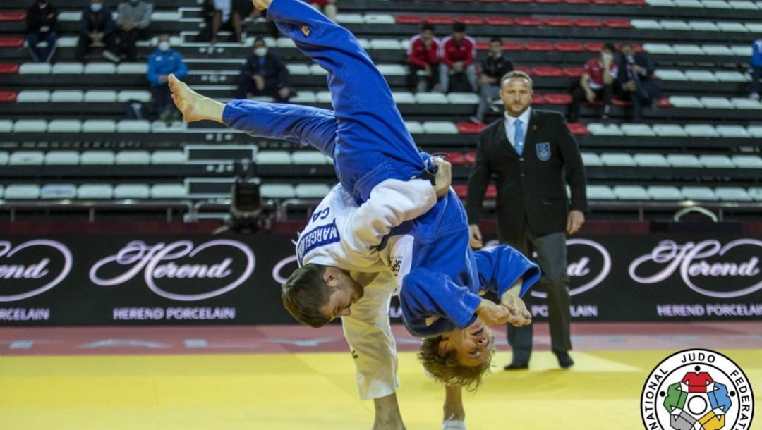 Équipe Canada Arthur Margelidon Judo Grand Chelem Antalya Turquie