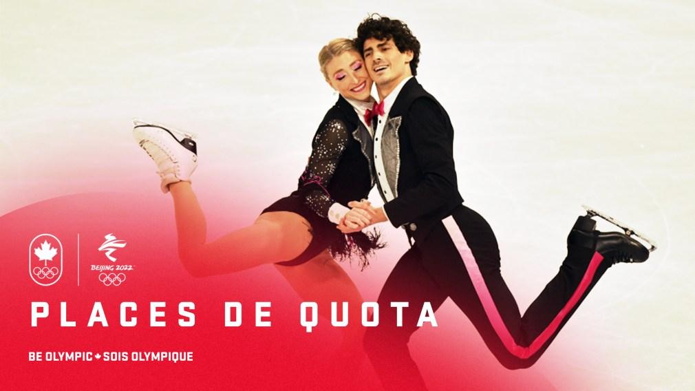 Équipe Canada décroche des places de quota en patinage artistique pour Beijing 2022