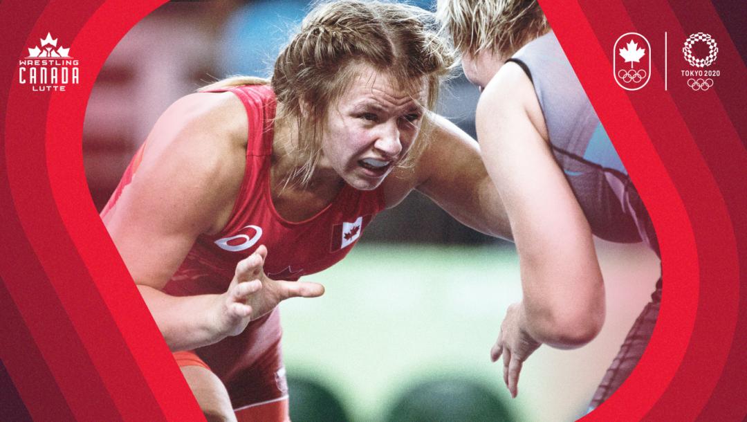 Équipe Canada Erica Wiebe annonce d'équipe Tokyo 2020
