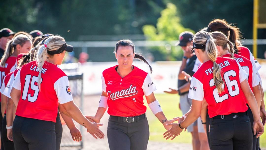 Équipe Canada Jennifer Salling Softball