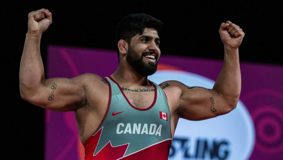 Équipe Canada Amar Dhesi lutte