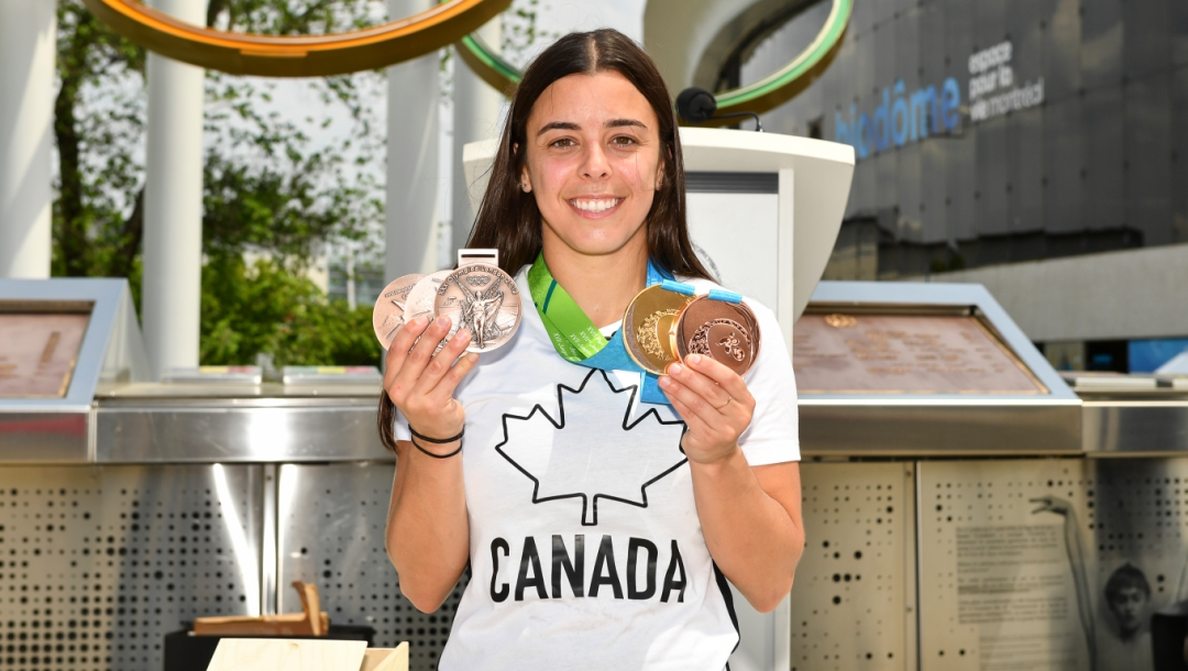 Équipe Canada - Meaghan Benfeito - Plongeon - Remise des médailles de remplacement - 8 juin 2021