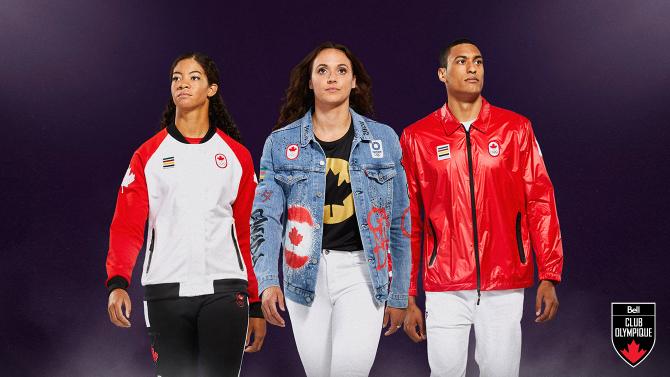 Ayez l'air olympique avec un ensemble officiel d'Équipe Canada pour les Jeux de Tokyo de la Baie d'Hudson