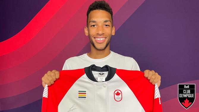 Gagnez la veste de podium d'Équipe Canada des Jeux Tokyo 2020 signé par Félix Auger-Aliassime