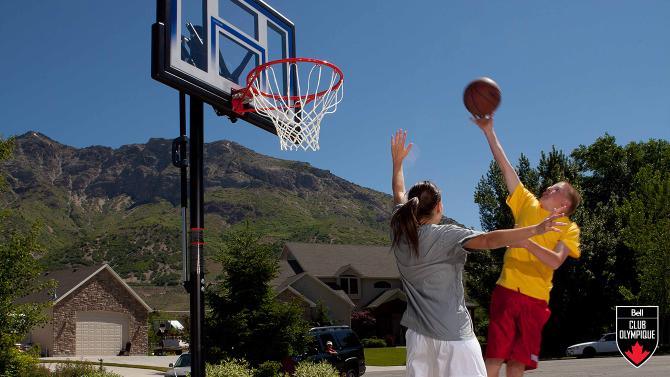 Gagnez un système de basketball portatif de Canadian Tire