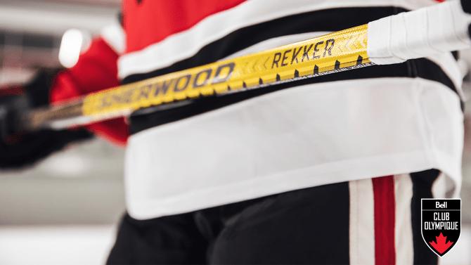 Gagnez un bâton de hockey Sherwood Rekker RE1 de chez Sport Chek